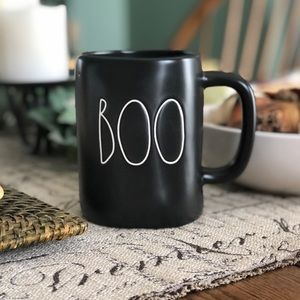 New Rae Dunn   Black   Boo Mug #1 Halloween